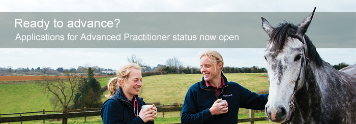 Apply now for Advanced Practitioner status