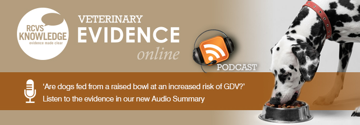 Veterinary Evidence Article 57 Podcast