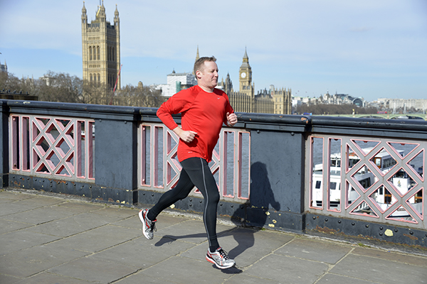 Stuart Reid is running the Virgin Money London Marathon