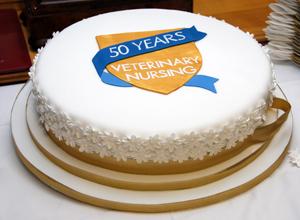 VN golden jubilee cake