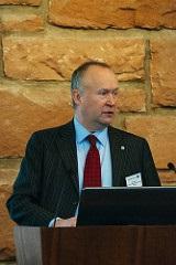 MMI Chair Neil Smith at MMI Research Symposium, Edinburgh