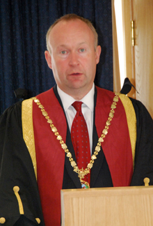 RCVS Council President, Neil Smith