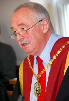 Jerry Davies, RCVS Council President