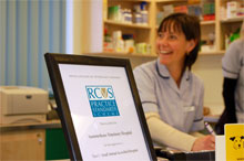 Receptionist at a RCVS accredited practice