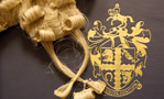Barrister's wig and RCVS coat of arms