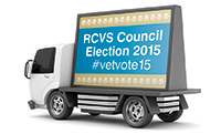 RCVS Council Election Ad Van