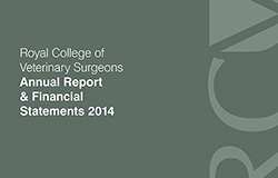 RCVS Annual Report and Financial Statements 2014