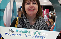 Emma Smith with her wellbeing tip