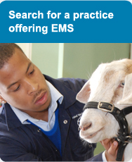 Search for a practice offering EMS