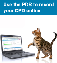 Access the online CPD recording system