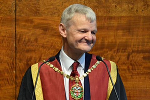 Stephen May gives his final address as RCVS President at Royal College Day 2018