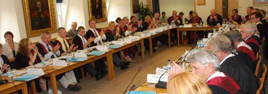 RCVS Council meeting in progress