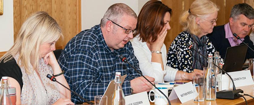 A meeting of RCVS VN Council