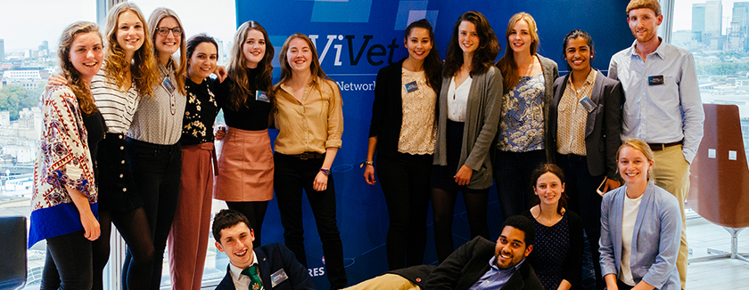 Students at ViVet day