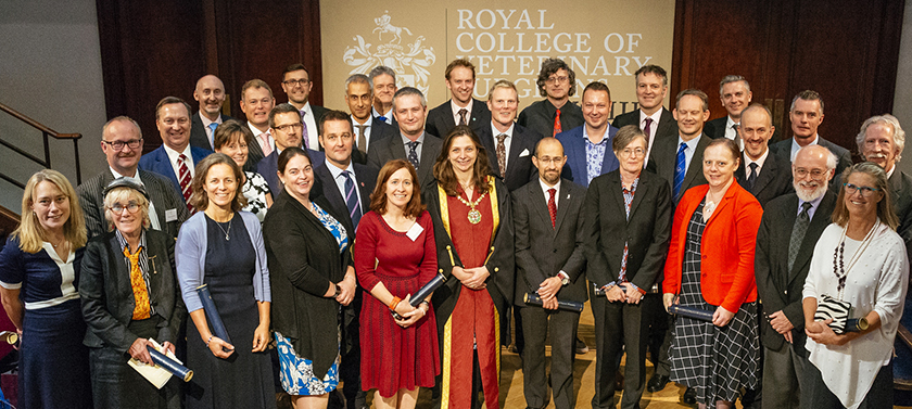 Picture of new FsRCVS at Fellowship Day 2018