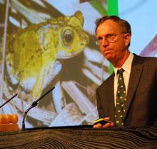 Guest speaker Dr Graham Crawshaw