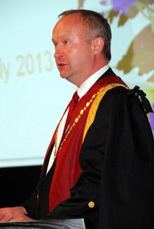 RCVS President Neil Smith