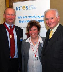 Neil Smith, Ruth MacKay and Lord Mackay