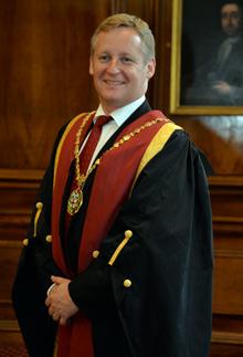 RCVS President Stuart Reid