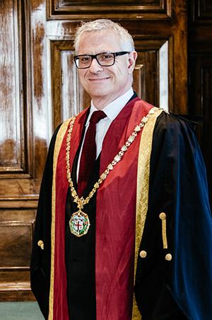 Dr Bradley Viner, RCVS President