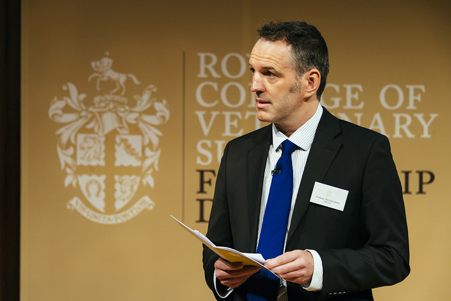 Professor Nick Bacon at the Fellowship Day 2016