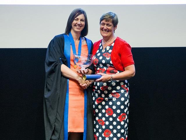 Kathy Kissick receives Golden Jubilee Award at RCVS Day 2017