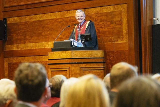 RCVS President Professor Stephen May at RCVS Day 2017