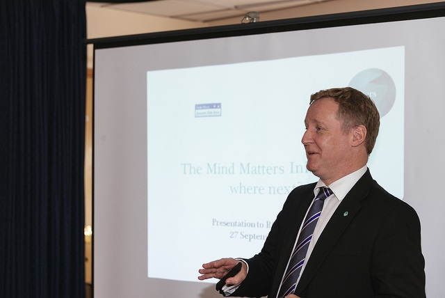 Stuart Reid Mind Matters presentation September 2018