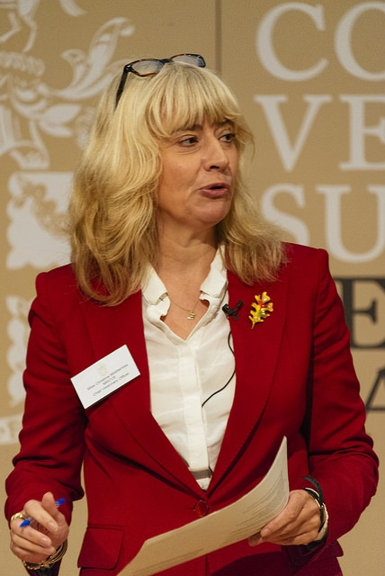 Christine Middlemiss Chief Veterinary Officer speaking at Fellowship Day October 2018