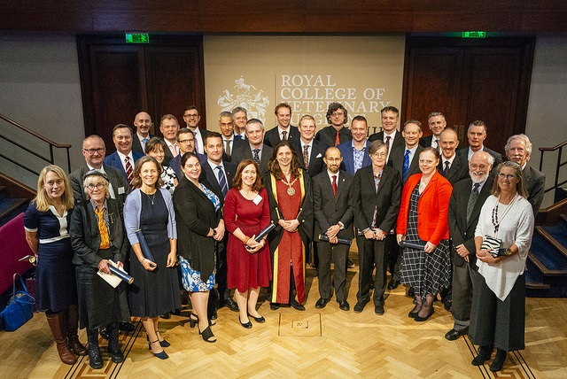 Picture of 35 new Fellows at Fellowship Day October 2018