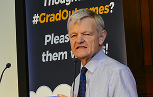 Professor Stephen May, RCVS Senior Vice-President, at the Graduate Outcomes consultation pre-launch in October 2018