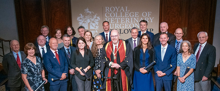 New RCVS Fellows welcomed at RCVS Fellowship Day 2019