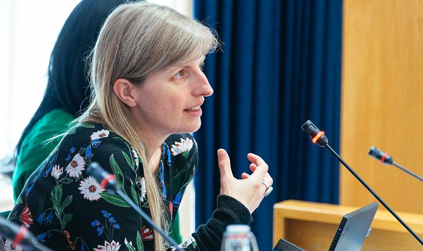 Lizzie Lockett, RCVS CEO