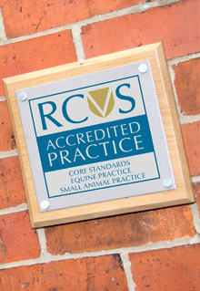 Accredited practice plaque