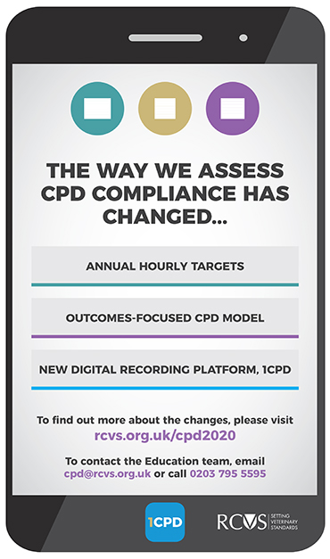 CPD poster explaining compliance changes