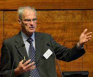 Derek Knottenbelt as guest speaker at Royal College Day 2018