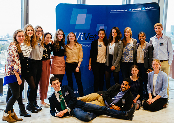 Students at Innovation Symposium