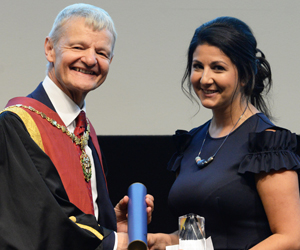 Stephen May and Jade Statt Royal College Day 2018