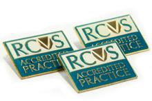 Practice Standard Scheme lapel badges