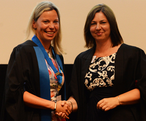 New VN Council Chair Racheal Marshall and Liz Cox Royal College Day 2018