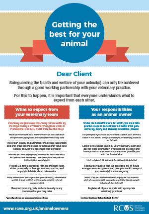 Practice-client poster