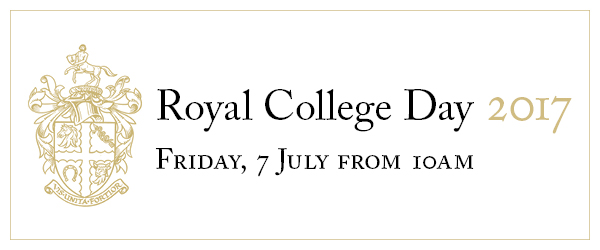 Royal College Day banner