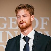 Luke Gunter presenting at Fellowship Day 2019