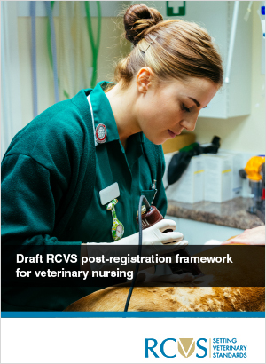 Cover of the Post-registration framework for veterinary nursing