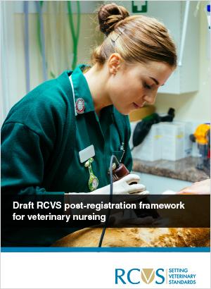 Cover of the Post-registration framework for veterinary nursing