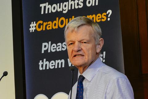 Professor Stephen May, RCVS Senior Vice-President, at the Graduate Outcomes pre-launch