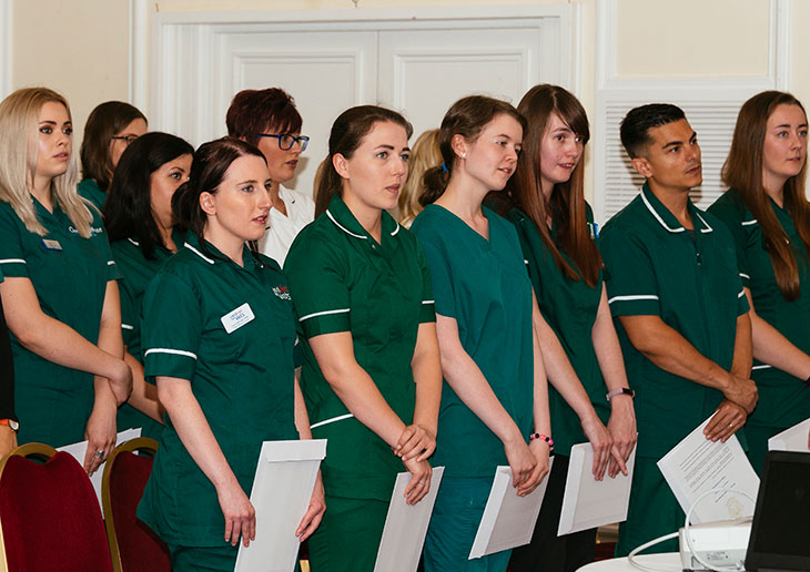 veterinary nursing students